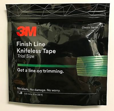 3M FINISH LINE KNIFELESS VINYL WRAP GRAPHIC CUTTING TAPE 1/8''X32' 10 Meter roll