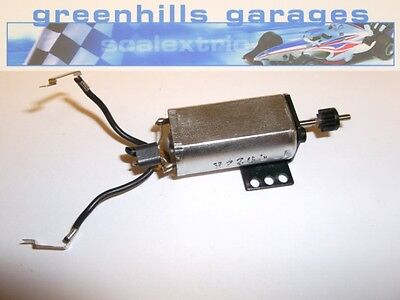 Greenhills Scalextric Moto GP Engine, Bracket & Pinion W9049 - P1663 - Used