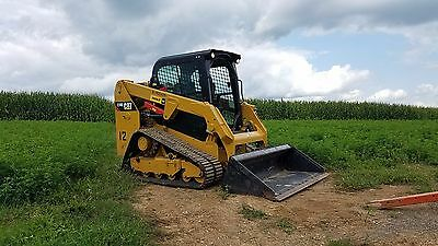 2015 Caterpillar 239D Compact Track Multi Terrain Skid Steer Loader Diesel Cat