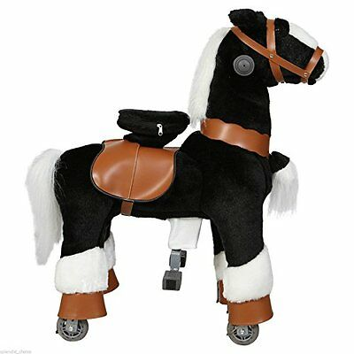 Ride on Horse Cycle Toy Small Mechanical Walking Pony Bounce up and down & Move