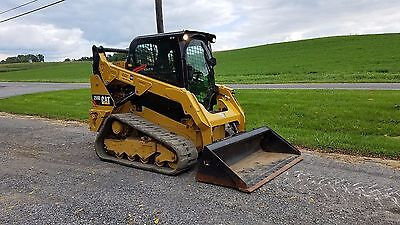2015 Caterpillar 259D Compact Tracked Skid Steer Loader Diesel Cat 2 Speed Cat