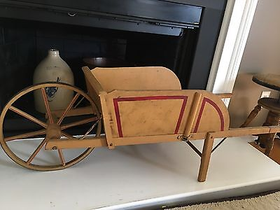 Antique Paris Wheel Barrow