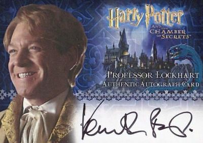 Harry Potter and the Chamber of Secrets Kenneth Branagh Autograph Card