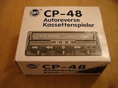 Vintage Electronic Car Cassette Stereo Player ( Cp-48 )