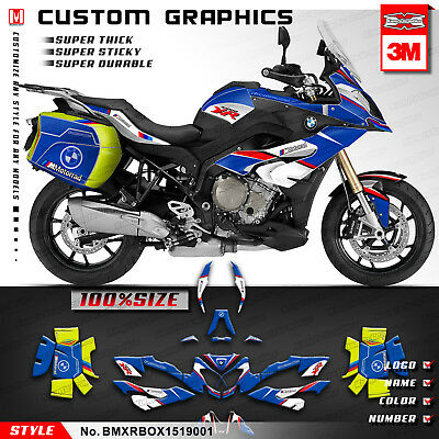 Motorcycle Graphics Kit Vinyl Decal Sticker for BMW S1000XR 2015 2016 2017 2018