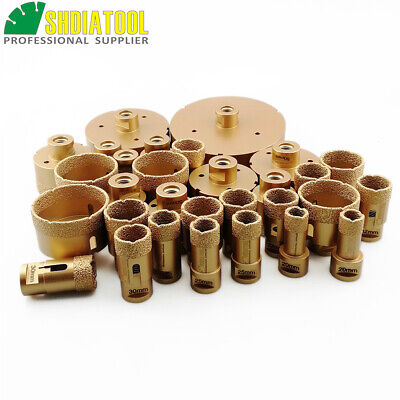 Vacuum Brazed Diamond core bits hole saw 20MM-125MM M14 Marble stone ceramic