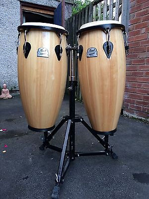 Pearl Primero Congas with Stand!