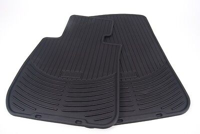 BMW Genuine Rubber Floor Mats for E90 E91 Fronts & Rears 1st & 2nd Rows