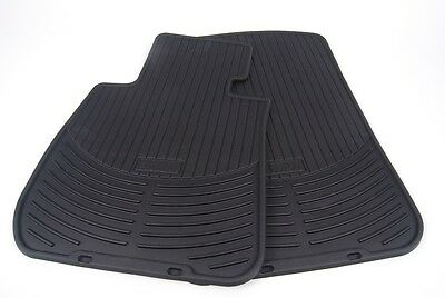 BMW Genuine Rubber Floor Mats for E90 Fronts & Rears 1st & 2nd Rows