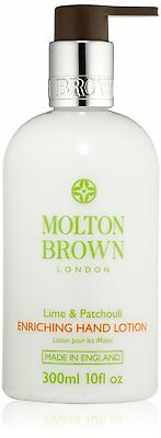 NEW MOLTON BROWN Enriching Lime and Patchouli Hand LOTION 300ml