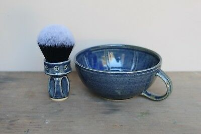 Wet Shaving Bowl / Lather Bowl / Mug - Giles Shaving Co. Handmade in UK 3 colour