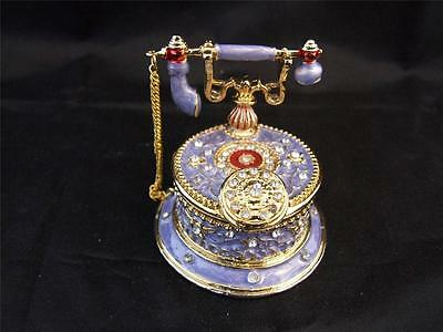 Regency Fine Arts Telephone Trinket Box.