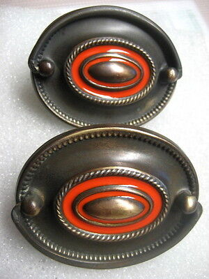 Vintage Furniture Drawer Pulls Russian Army Badge style
