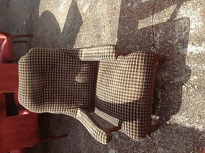 Art Deco small lounge chair