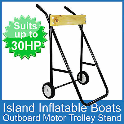 Outboard Boat Motor Trolley  Bracket Stand Suits Up To 30Hp - 60Kg Free Postage
