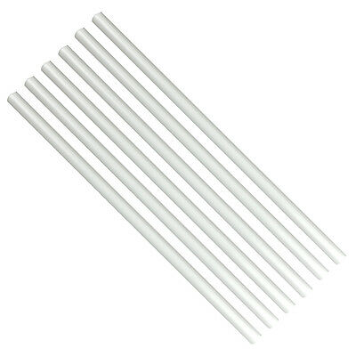 Bulk Poly-Dowels 100 Count, 16 x 1/2 Inches White by GSA
