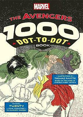 Marvel's Avengers 1000 Dot-to-Dot Book: Twenty Comic Characters to Complete Your