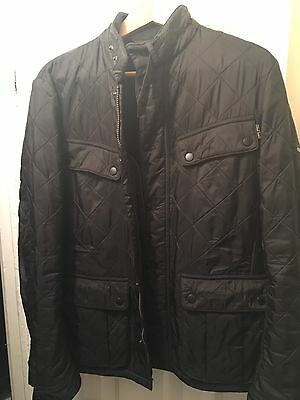 Barbour Men's Small Quilted Motorcycle Jacket
