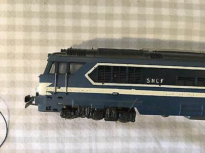 Jouef  SNCF Diesel  Locomotive BLUE LIKE NEW