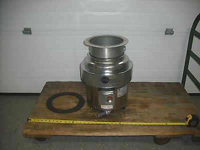 In-Sink-Erator SS-1000 10 HP Stainless Commercial Disposer USED