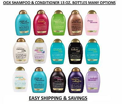 OGX Shampoo Or Conditioner Hair Care Many Options 13 Oz. Pick 1 Free World Ship