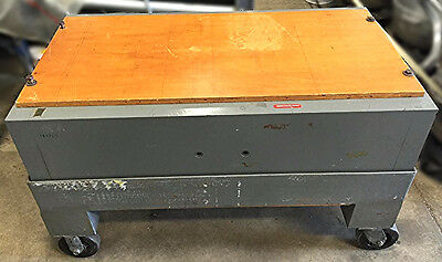 Indiana Corporation Magnet Division Demagnetizer Magnetizer On Wheels 47C222A