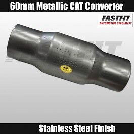FASTFIT 60mm Universal Euro 2 Mettalic Catalytic Converter