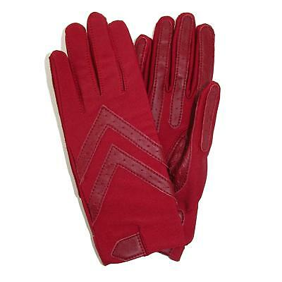 New Isotoner Women's Unlined Leather Palm Driving Gloves