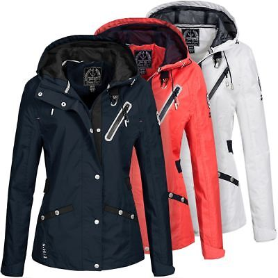 Geographical Norway Damen Parka Berlineta Übergangs Damenjacke Kurz Mantel Jacke