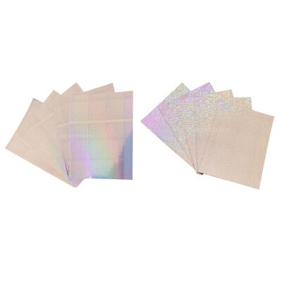 10pcs Holographic Lure Fishing Tape Adhesive Scale Tape Lure Waterproof