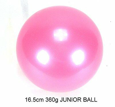 Rhythmic Gymnastic Junior Competition Exercise Ball 16.5cm 360G Olympic Spec ...