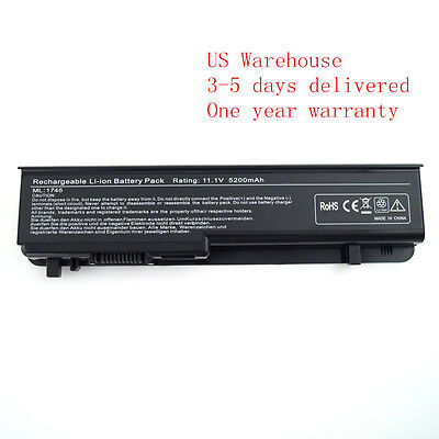Battery For Dell Studio 17 1745 1747 1749 N855P N856P U150P U164P 312-0186 6cell