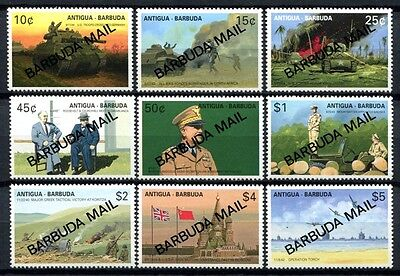 Barbuda 1991 2. Weltkrieg World War Militär Panzer Churchill Armee 1304-1312 MNH