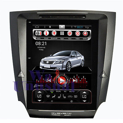 10.4'' Vertical screen Android 6.0 Car GPS Stereo NAV For Lexus IS250 IS300 I350