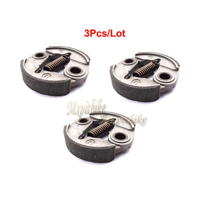 3x Clutch Pad For 33cc 43cc 49cc Minimoto Engine Pocket Bike Gas Petrol Scooter