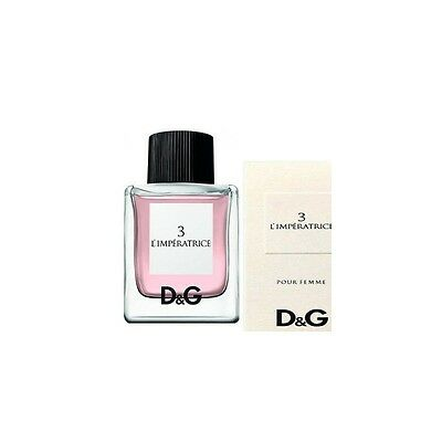 DOLCE & GABBANA  L'Imperatrice 3 edt 50ml spray