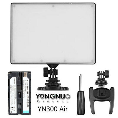Yongnuo YN-300 Air 3200K-5500K LED Video Light for Nikon with NP-F550 Battery