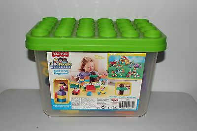 Fisher-Price Little People Builders Build N Fun Playground