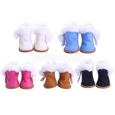 Fashion Shoes Boots for 18inch American Girl Dolls Clothes Party Accessories