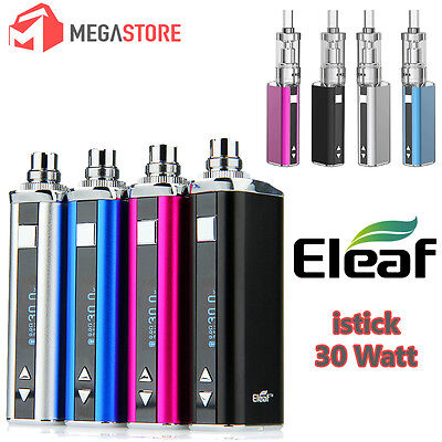 Sigaretta elettronica ELEAF ISTICK 30 W FULL KIT Disponibile in 4 colori