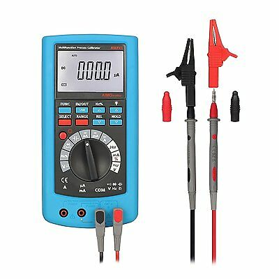 Multimeter Tester LESHP Mulitifuction Process Calibrator DMM Digital MultiMeter