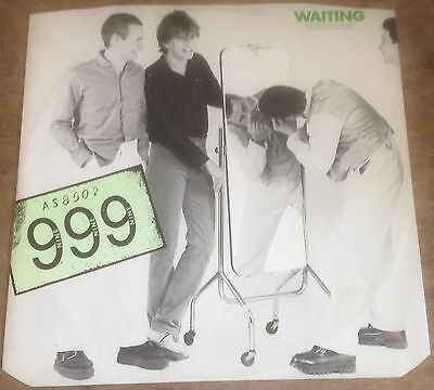 "999 waiting*action 1978 UK LABRITAIN 12"" PS SINGLE"