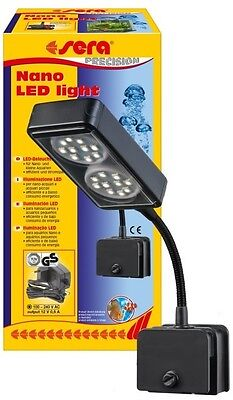 Sera Nano LED Light Aquarium Klemmlampe Fische