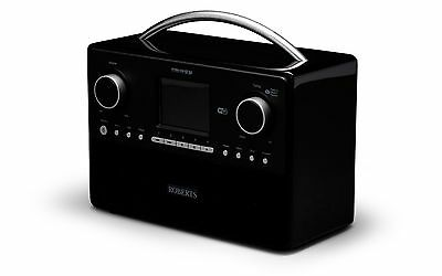 Roberts STREAM93I in Black with FM/DAB/DAB+/INTERNET/MUSIC PLAYER/SPOTIFY