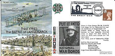 Cover Commemorating Third Ypres - Langemarck