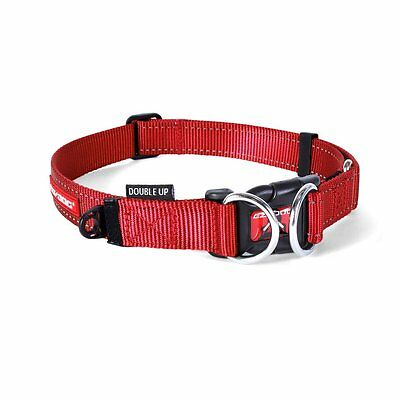 Ezydog Double Up Collar,  SMALL, Red Dog