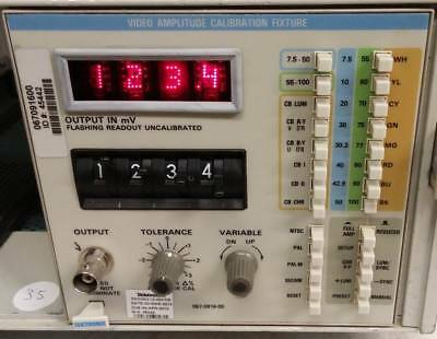 Tektronix 067-0916-00 Video Amplitude Calibration Fixture