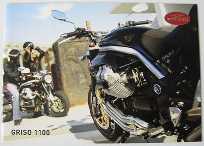 MOTO GUZZI GRISO 1100 - Motorcycle Sales Brochure - Undated