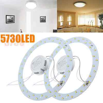 18W 5730 LED Panel Circle Annular Ceiling Light Fixture Board Lamp Replacement!!