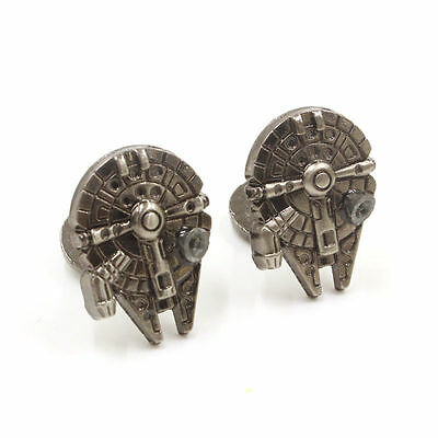 2017 Bronze Wedding Shirt Cufflinks Novelty Star Wars Cuff Links Man's Jewelry